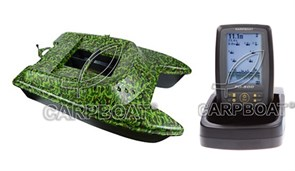 Комплект Carpboat Deluxe и Fish Finder TF500