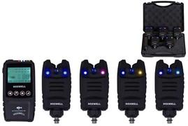 Набор электронных сигнализаторов поклевки с пейджером Hoxwell - HL72М (4+1)