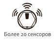 iClebo Arte имеет более 20 сенсоров