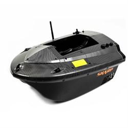 Кораблик для прикормки Carpboat Skarp Carbon 2,4GHz - фото 4643