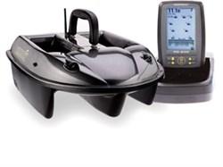 Кораблик  Carpboat Carbon 2,4GHz и эхолот Fish Finder TF500 комплект - фото 4691