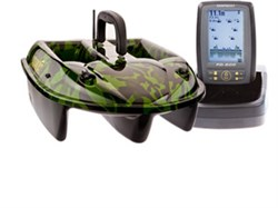 Кораблик Carpboat Camo 2,4GHz и эхолот Fish Finder TF500 Комплект