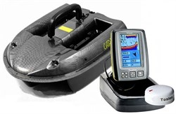 Комплект Carpboat Carbon 2,4GHz и Fish Finder TF640 - фото 5186