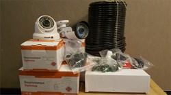 Комплект видеонаблюдения Full HD Optimus на 2/4 уличных камеры 1080P - фото 6019