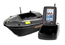 Кораблик Carpboat Skarp Carbon и эхолот Fish Finder TF640 комплект