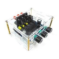 Усилитель НЧ D-класс 2.1, 2х50Вт, 1x100Вт MP3117box (TPA3116) - фото 6321