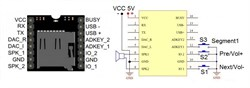 MP112SD Встраиваемый MP3 плеер для microSD карт - фото 6330