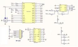 MP112SD Встраиваемый MP3 плеер для microSD карт - фото 6331