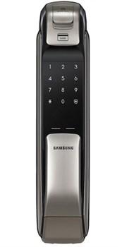 Врезной биометрический электронный замок Samsung SHP-DP728 Dark Silver - фото 7028