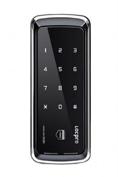 Электронный замок для стеклянных дверей LocPro GL725B2 Series Black без монтажных пластин - фото 7037