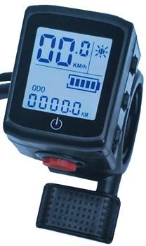 Курок газа с LCD Велоракета - фото 7469