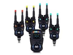 Набор электронных сигнализаторов поклевки с пейджером New Direction - K9/R9 4+1