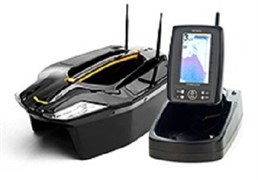 Кораблик Carpboat Toslon Xboat 730 и эхолот Fish finder TF500 -комплект
