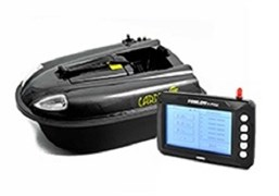 Кораблик Carpboat Mini Carbon 2,4GHz и Fish Finder TF300 Комплект