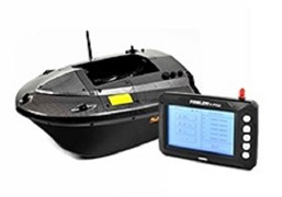 Кораблик Carpboat Skarp Carbon и Fish Finder TF300 Комплект