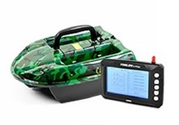 Кораблик Carpboat Camo 2,4GHz и Fish Finder TF300 Комплект